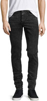 Rag & Bone Standard Issue Fit 1 Slim-Skinny Jeans, Black