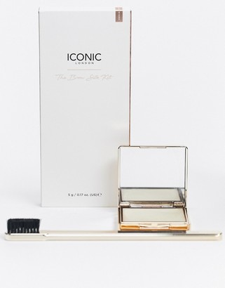 Iconic London Brow Silk & Brush Bundle