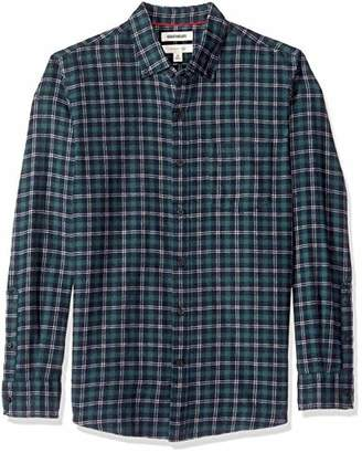 Goodthreads Slim-fit Long-Sleeve Brushed Shirt,(EU M)