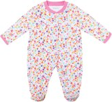 Jo-Jo JoJo Maman Bebe Confetti Footie (Baby) - Pink-3-6 Months