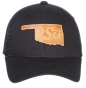 Zephyr Oklahoma State Cowboys Expedition Patch Trucker Cap