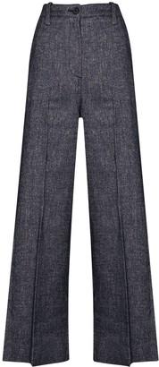 LVIR High-Rise Wide-Leg Trousers