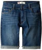 Levi's 511 Cuffed Cut Off Shorts (Big Kids)