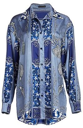 Etro Bandana Print Silk Tunic