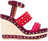 Lanvin espadrilles wedge sandals