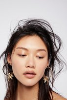 Trapeze Pearl Hoops by Kitte at Free People