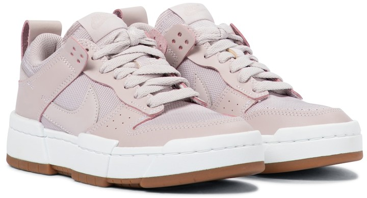 Nike Dunk Disrupt leather sneakers