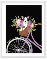 Pottery Barn Kids Enjoy the Ride Wall Art by Minted® 11x14, White