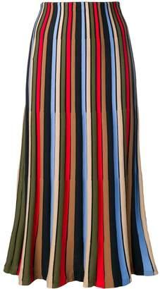 Sonia Rykiel striped tulip skirt