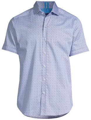 Robert Graham West Check Print Sport Shirt