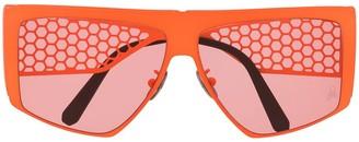 Philipp Plein Mesh Arms Sunglasses