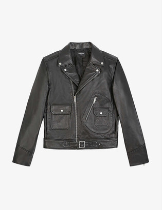 The Kooples Leather biker jacket