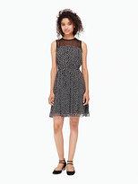 Kate Spade Spot chiffon dress