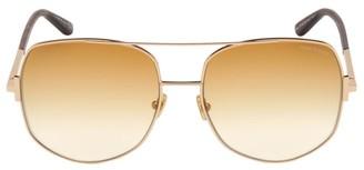 Tom Ford Lennox 62MM Aviator Sunglasses