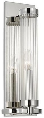 Alexa Hampton Ah X Generation Lighting Demi Sconce - Polished Nickel