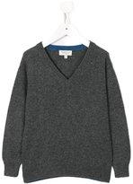 Cashmirino - V-neck knitted jumper - kids - Cashmere - 2 yrs