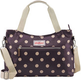 Cath Kidston Button Spot Zipped Handbag With Detachable Strap