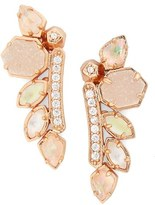 Kendra Scott 'Madison' Crystal Ear Crawlers