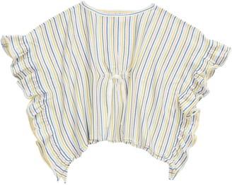 Tea Collection Stripe Sweater Poncho