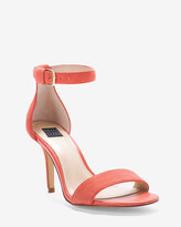 White House Black Market Two-Piece Suede Heels