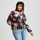 Ava & Viv Women's Plus Size Bomber Jacket