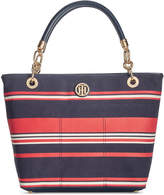 Tommy Hilfiger Th Signature Top-Zip Extra-Large Tote
