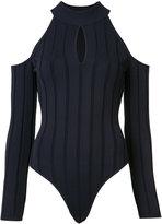 Jonathan Simkhai cold shoulder bodie - women - Nylon/Rayon - XS