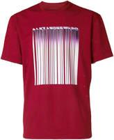 Alexander Wang welded barcode mesh T-shirt