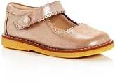 Elephantito Girls' Metallic Mary Jane Flats - Walker, Toddler