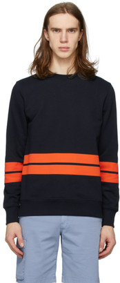 Paul Smith Navy Stripe Regular Fit Sweatshirt