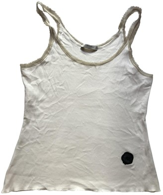 Viktor & Rolf White Cotton Top for Women