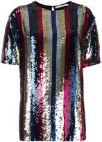 Amen sequin embellished T-shirt - women - Viscose/PVC - 42