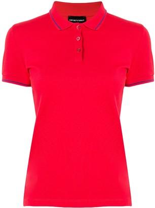 Emporio Armani Pique Polo Shirt