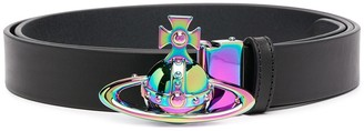 Vivienne Westwood Iridescent Buckle Adjustable Belt