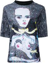 Romance Was Born Satellite Fade Out T-shirt - women - Cotton - 6