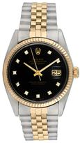 Rolex Vintage Two-Tone Diamond Datejust Watch, 36mm