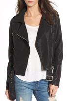 LIRA Vegan Leather Jacket