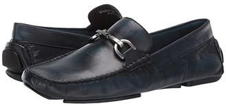 Donald J Pliner Victor (Denim Wash Goat) Men's Slip-on Dress Shoes