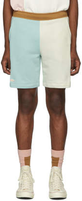 Lacoste Blue and Off-White Golf le Fleur* Edition Bermuda Shorts