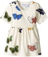 Mini Rodini Butterflies Short Sleeve Dress Girl's Dress