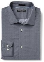 Banana Republic Grant-Fit Non-Iron Mini Checkered Shirt
