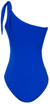 Caffe Swimwear - One Shoulder One Piece In Blue