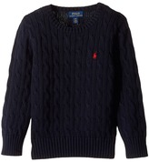 Polo Ralph Lauren Cable Knit Cotton Sweater Boy's Sweater