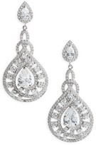 Nina Women's Glamorous Drop Earrings