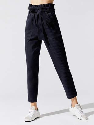 Stateside Suiting Pinstripe Paperbag Pants