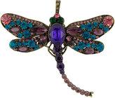 Joanna Buchanan Dragonfly Christmas Tree Decoration - Amethyst/Teal