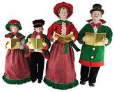 Asstd National Brand 27-37 Christmas Day Carolers- Set of 4