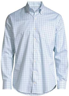 Peter Millar Regular-Fit Emory Tattersall Shirt