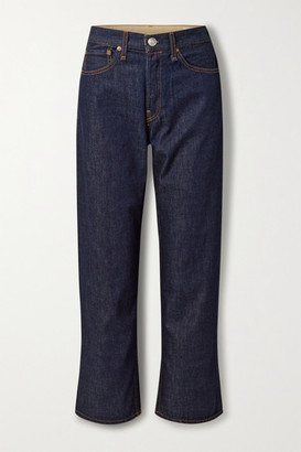 Rag & Bone Maya High-rise Straight-leg Jeans - Dark denim