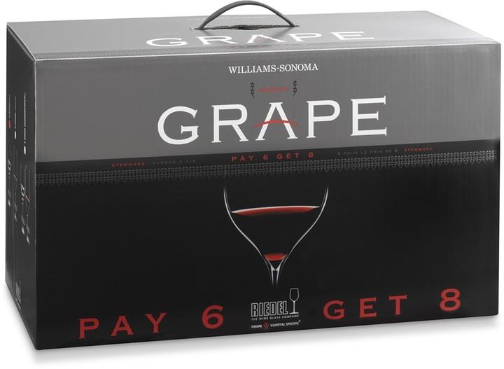 Riedel Grape Chardonnay/Cabernet 8-Piece Gift Set